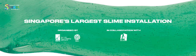 singapore largest slime installation