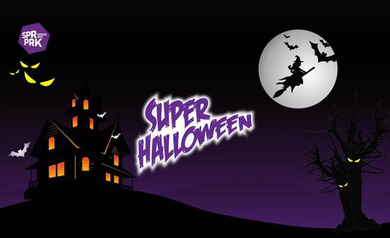 superpark halloween day event