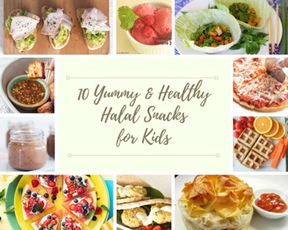 10 Yummy and Healthy Halal Snacks for Kids
