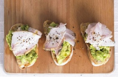 Chicken and Avocado Toast