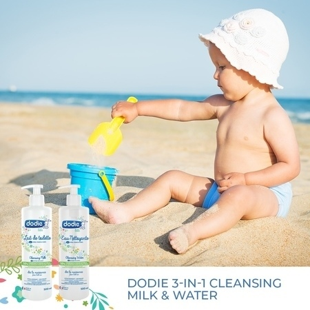 Dodie 3-in-1 Cleansing Milk and Cleansing Water