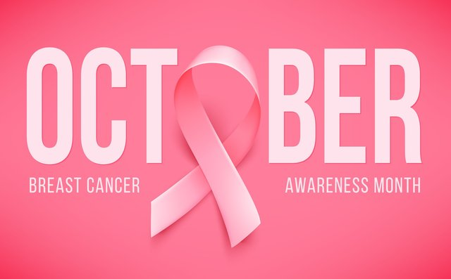 Pink Ribbon Breast Cancer Awareness Month