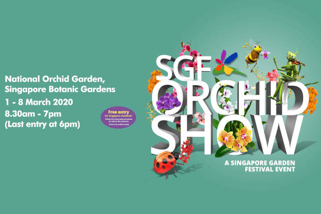 SGF Orchid Show 2020