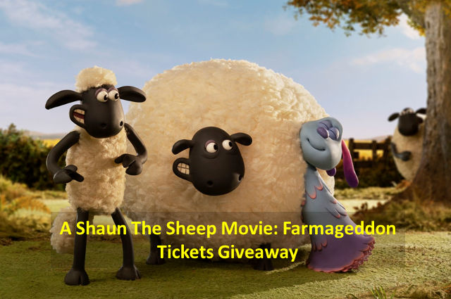 Shaun The Sheep Movie Farmageddon giveaway