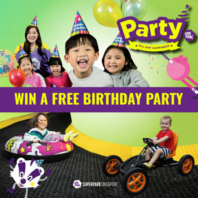 SuperPark Singapore Party Giveaway