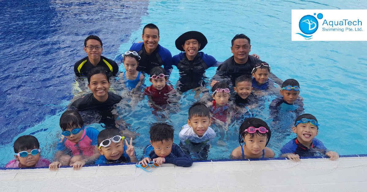 aquatech swimming class