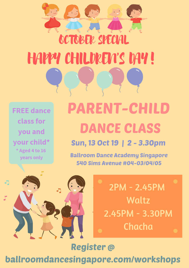 ballroom dance singapore childrens day