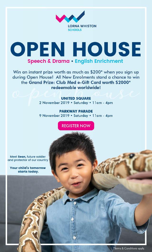 lorna whiston schools open house