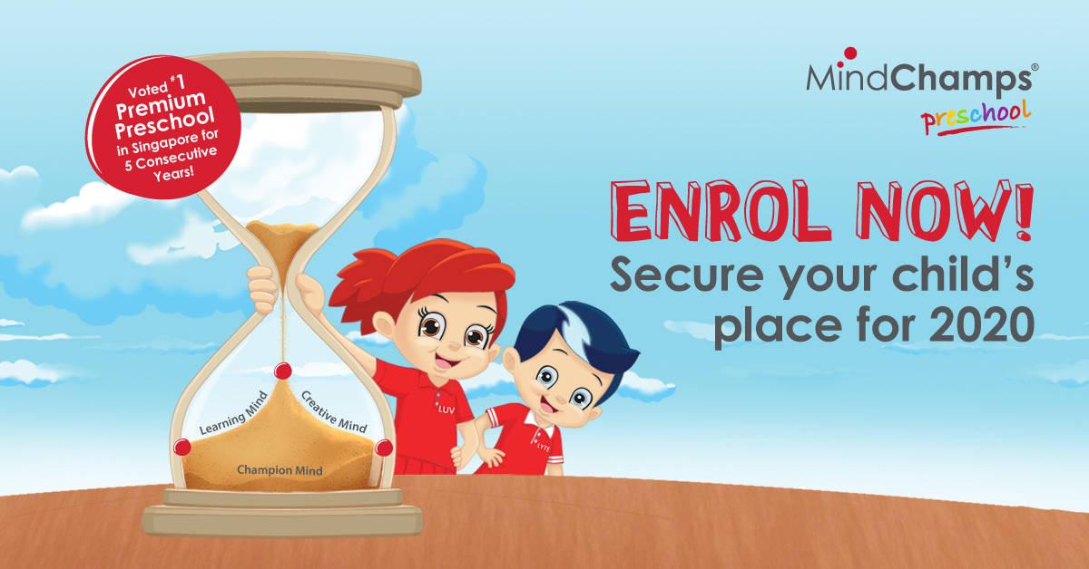 mindchamps preschool enrolment 2020