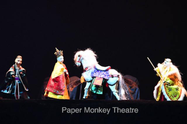 paper monkey theatre journey west