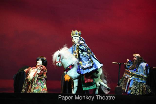 paper monkey theatre puppet show journey west