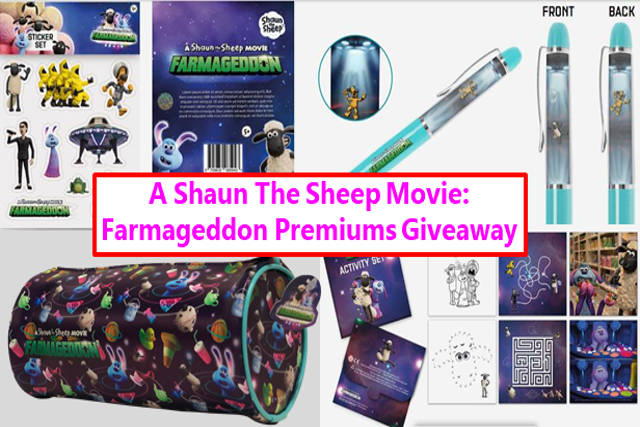 A Shaun The Sheep Movie Farmageddon premiums