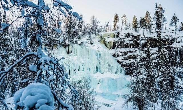 Korouoma Frozen Waterfalls Photography Tour