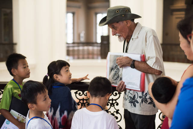 Celebrate Grandparents' Day 2019 at the National Museum of Singapore