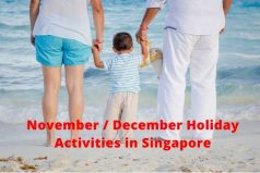 76 November-December School Holidays 2019 Activities for Kids