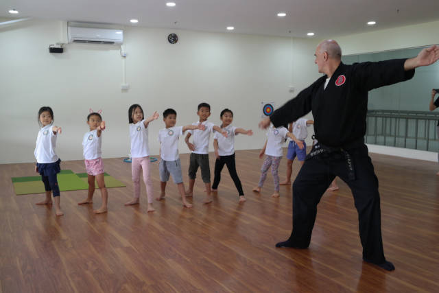 melodious cove martial art holiday program