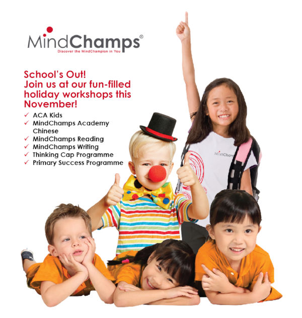 mindchamps nov dec holiday programmes 2019