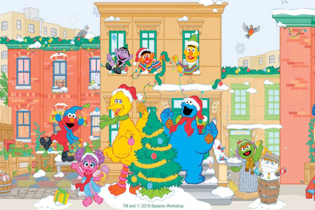 Christmas With Sesame Street Friends at Lifestyle Haven Marina Square