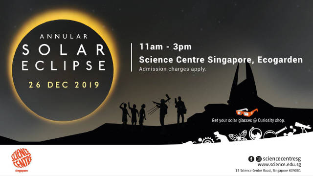 Annular Solar Eclipse Science Centre Singapore
