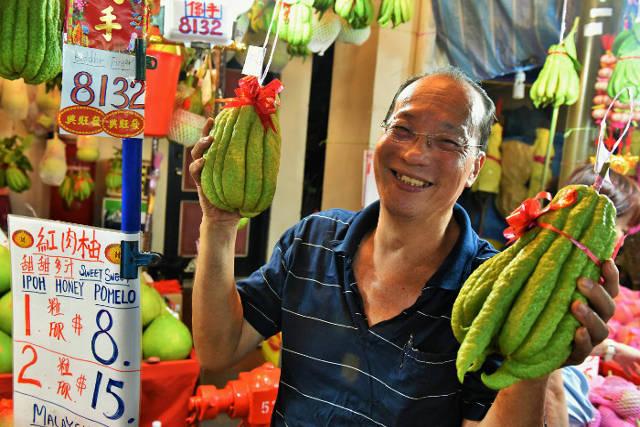 Festive Street Bazaar at Chinatown