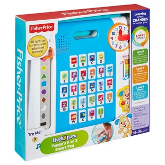 Pampers Free L&L PUPPY'S A-Z SMART PANEL