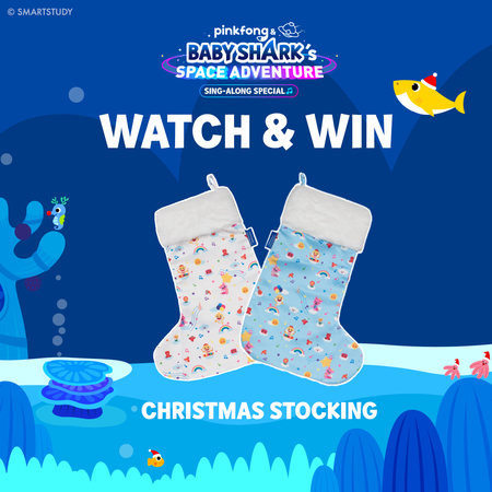 Pinkfong Baby Shark Christmas Stocking