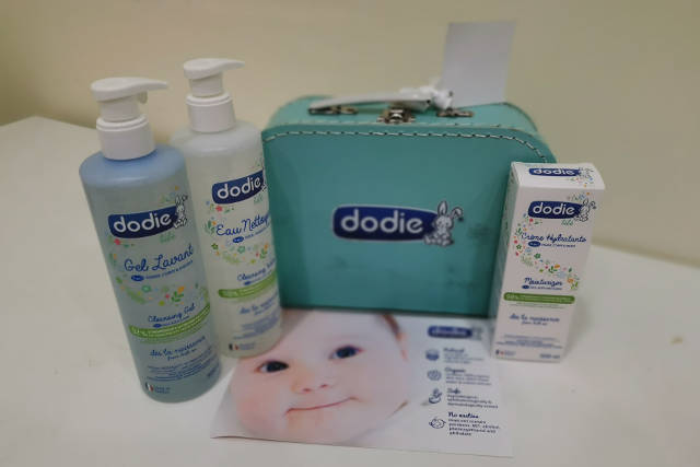 Dodie All-Natural Skincare Products Winner