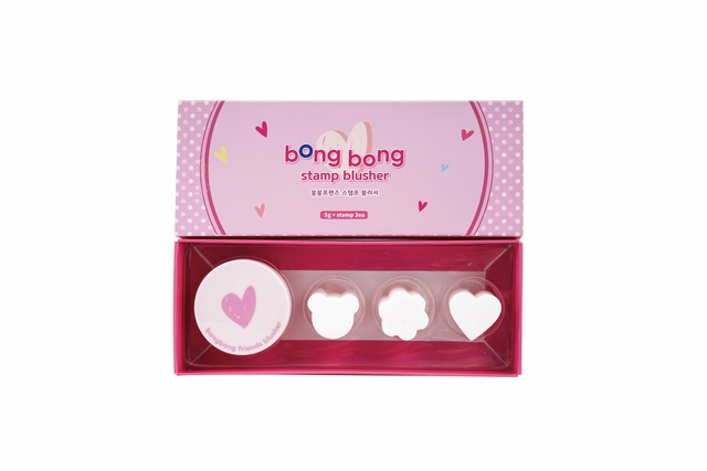 Bongbong Friends Cosmetic Blusher for Kids