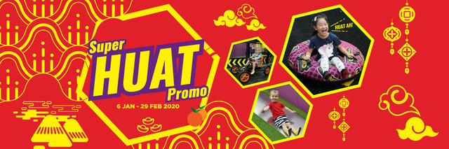 SuperPark Chinese New Year promotion