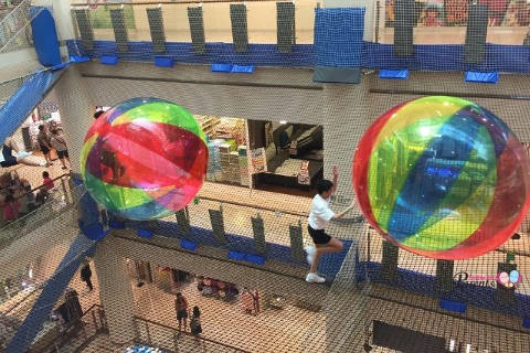 Airzone Indoor Atrium Net Playground City Square Mall Singapore