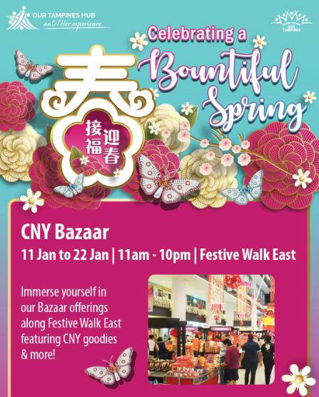 cny bazaar at our tampines hub