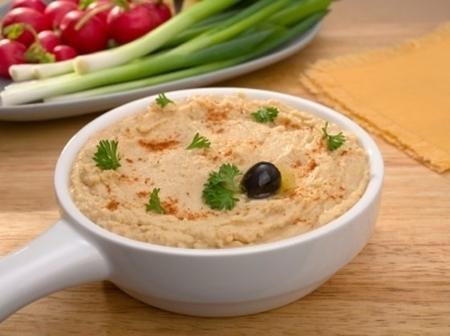 Homemade Hummus Halal baby food