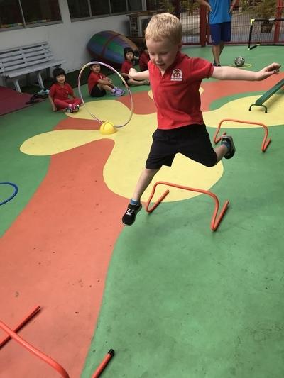 MapleBear Preschool PE environment