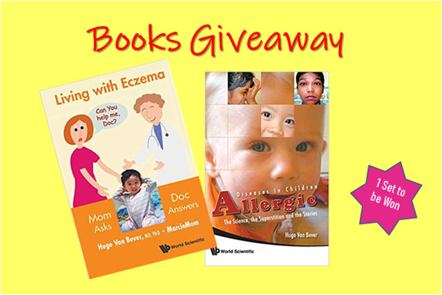 Eczema And Allergies Guide Books Giveaway