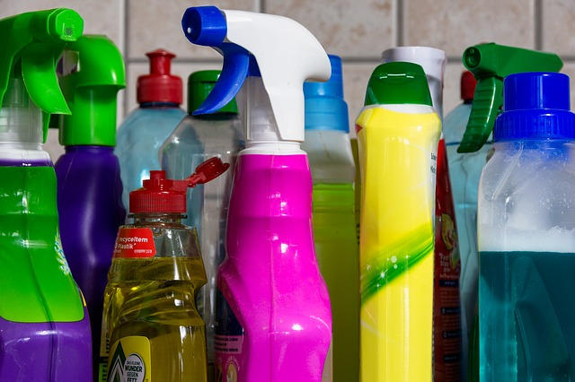 household products for cleaning disinfecting