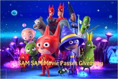 SamSam Movie Complimentary Passes Giveaway