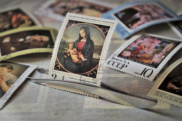 stamps collecting