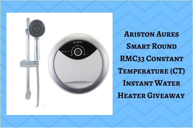 Ariston Aures Smart Round RMC33 Constant Temperature (CT) Instant Water Heater Giveaway