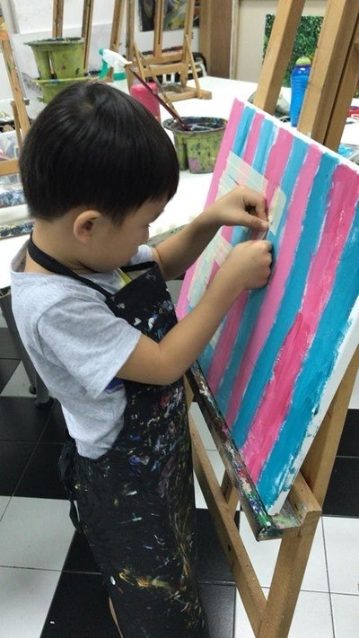Arthaus Art Classes for kids Singapore