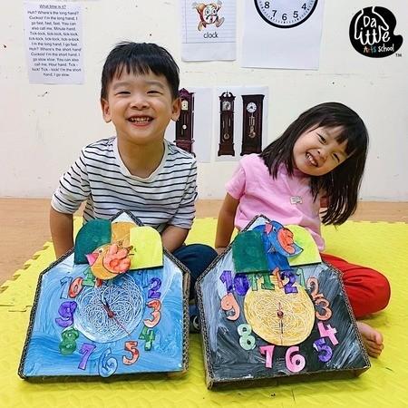 Da Little School Art Classes for Kids Singapore