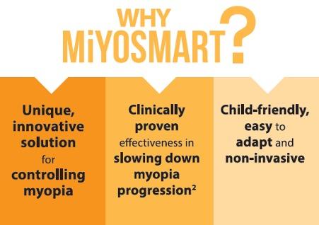 How to slow myopia progression in children with MiYOSMART lens
