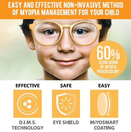 MiyoSmart Lens Myopia Management for Children