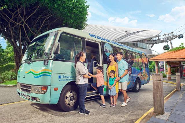 Singapore Island Bus Tour
