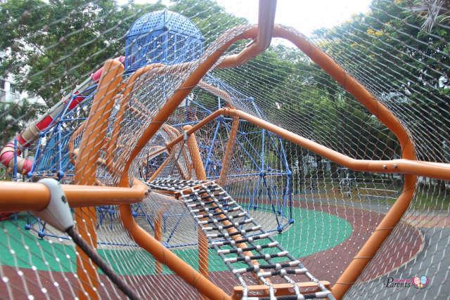 skywalk diamond playground woodlands circle green playground
