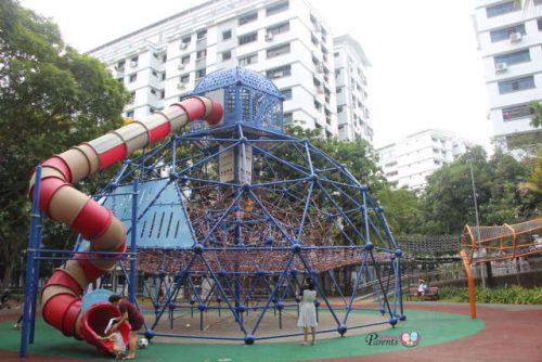 Woodlands Circle Green Park Outdoor Children Playground