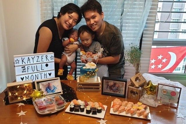 Baby first month celebration ang ku kueh singapore