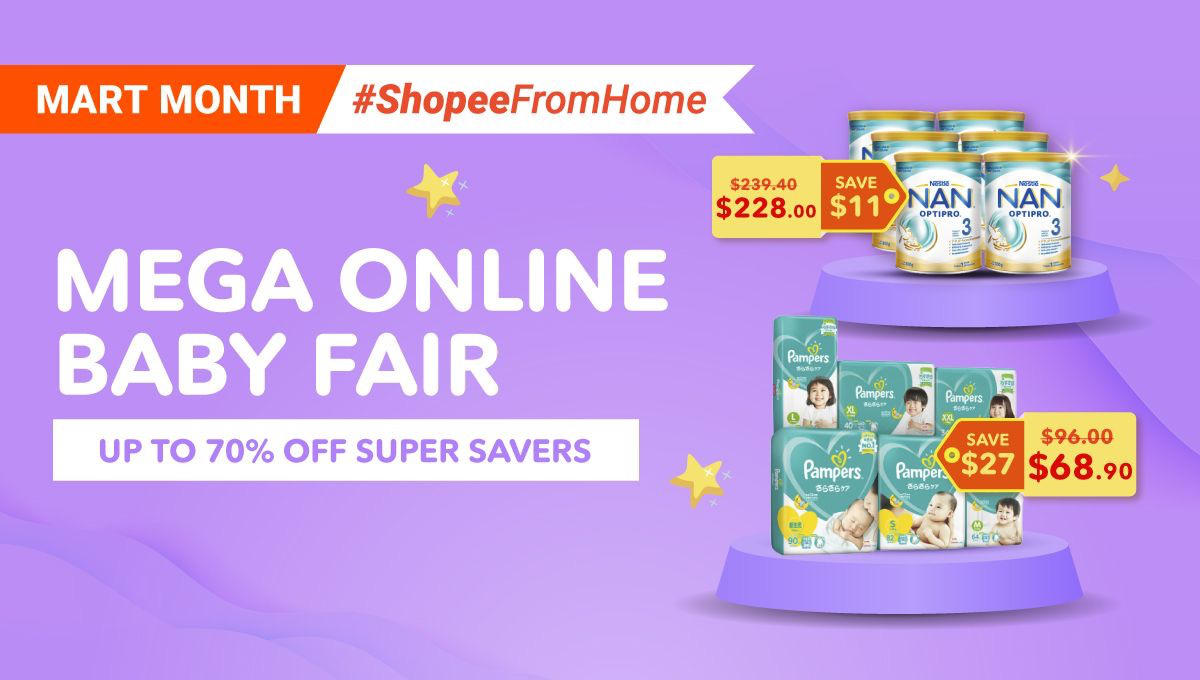 What to Look Out for During Shopee's Mega Online Baby Fair