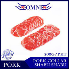 Pork Collar Shabu Shabu - 500g