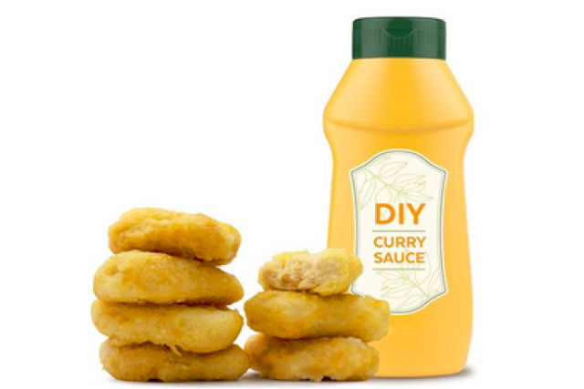 Quorn Nuggets with Homemade Curry Sauce recipe