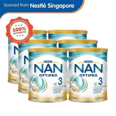 Shopee Mega Online Baby Fair Nestle NAN OPTIPRO 3 Growing Up Milk 800g x6